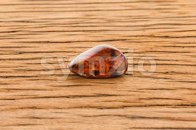 Pietersite on white background Stock Photo