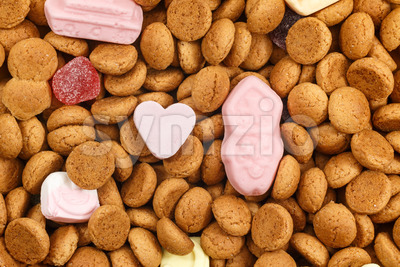Love Sinterklaas pepernoten Stock Photo