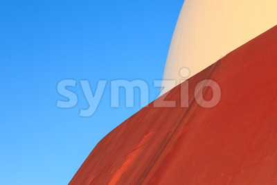 Abstract modern architecture rust surface Stock Photo