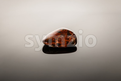 Pietersite on glossy surface Stock Photo