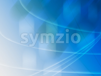 Abstract background lines blue green Stock Photo