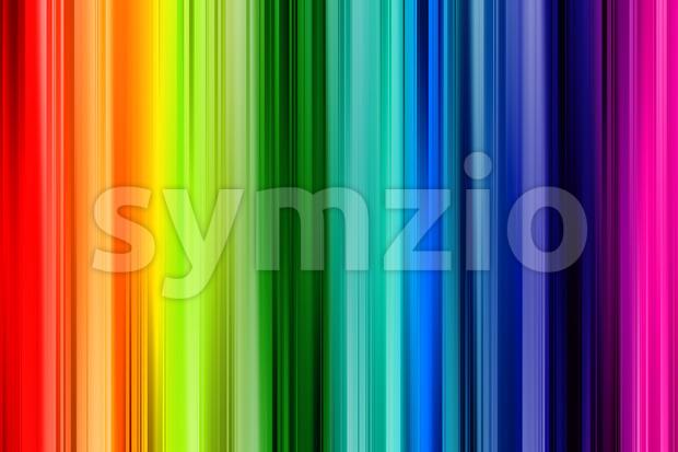 Rainbow background colorful straight design Stock Photo