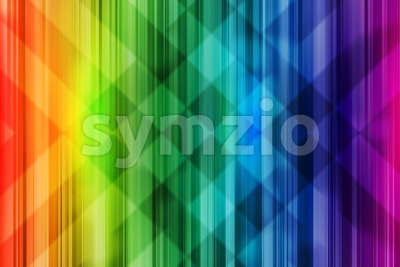 Rainbow background colorful intersect pattern light Stock Photo
