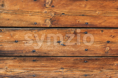 Old wood board house construction Stock Photo