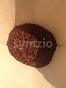 Fresh ground filter coffee Stock Photo