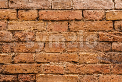 Close-up of old Italian wall Stock Photo