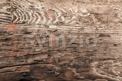 Close up of worn wood Stock Photo