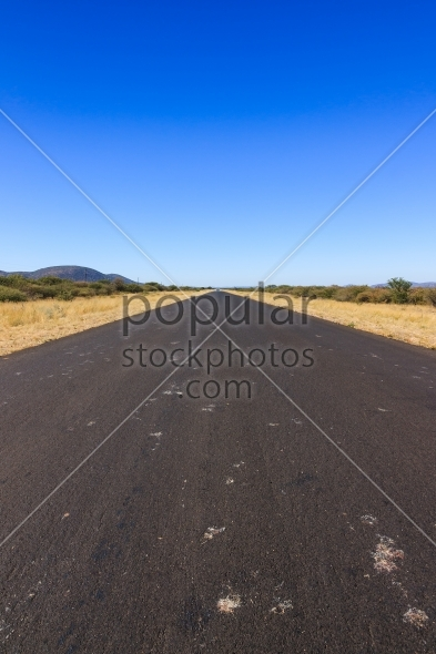 Road to nowhere Namibia Africa