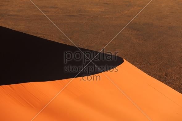 Edge red sanddune Sossusvlei